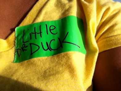 Dr. Little Duck, at your service.