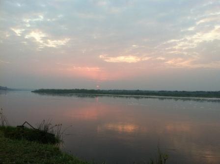 Sunrise on the Nile.